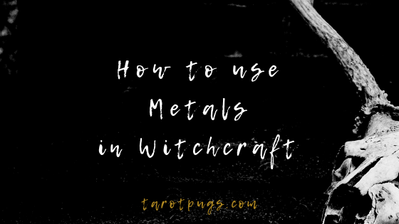 Find out the properties and how to use metals in witchcraft, magick and spells. #witchcraft