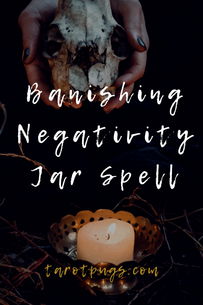 Find out how to banish negativity with this Banishing Negativity Jar Spell. #witchcraft #witch #magick #spells