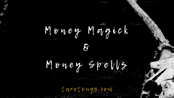 Find out how to draw and attract money in magick and spells.