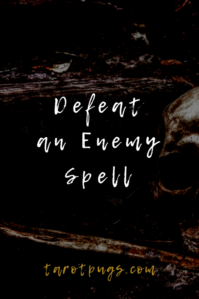 Bind, banish and defeat an enemy with this witchcraft spell.