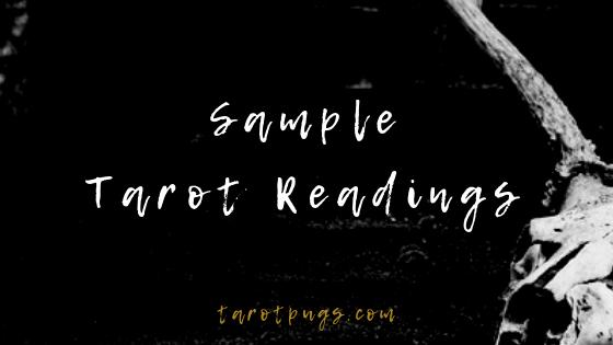 Sample Tarot Readings from TarotPugs