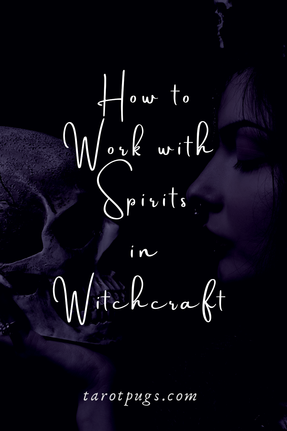 Discover how to work with spirits in witchcraft, magick and spells. #spirits #witchcraft #magick #necromancy