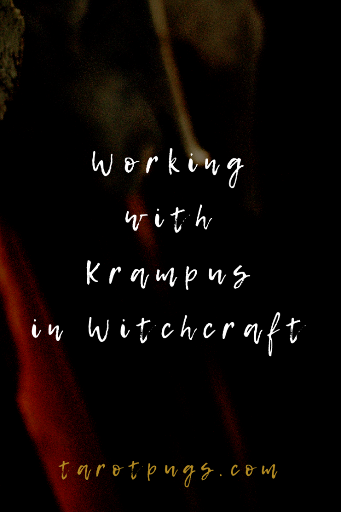 Working with Krampus in Witchcraft TarotPugs Pinterest 2019