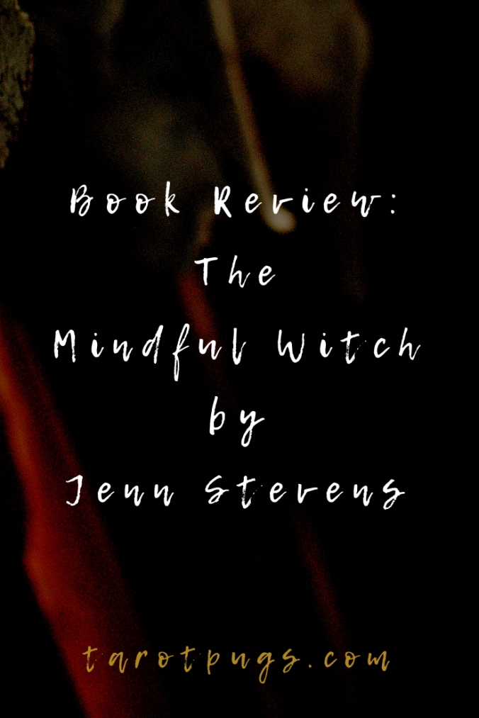 Book Review: The Mindful Witch by Jenn Stevens is a beautifully, aesthetic witchcraft journal for new and experienced witches.