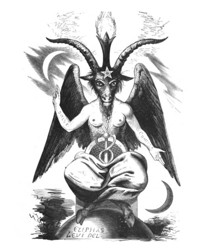 Baphomet - Eliphas Levi - {{PD-US-expired}} – published anywhere before 1924 and public domain in the U.S.