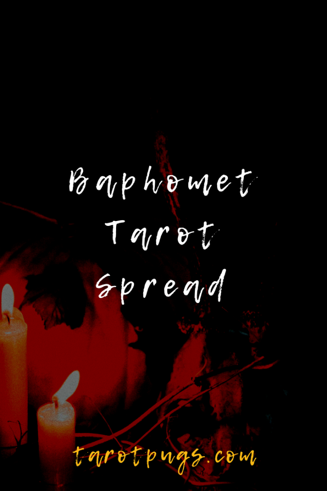 What wisdom does the Baphomet have for you in the Baphomet Tarot Spread. #Witchcraft #Occult #LeftHandPath #Tarot