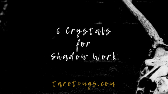 Learn about these 6 crystals to go deeper in your shadow work.