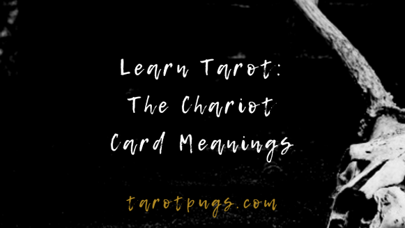 Learn the tarot meanings for The Chariot card. #tarot #learntarot