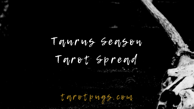 Explore what's ahead for you in Taurus season with the Taurus Season Tarot Spread. #astrology #tarot #taurus