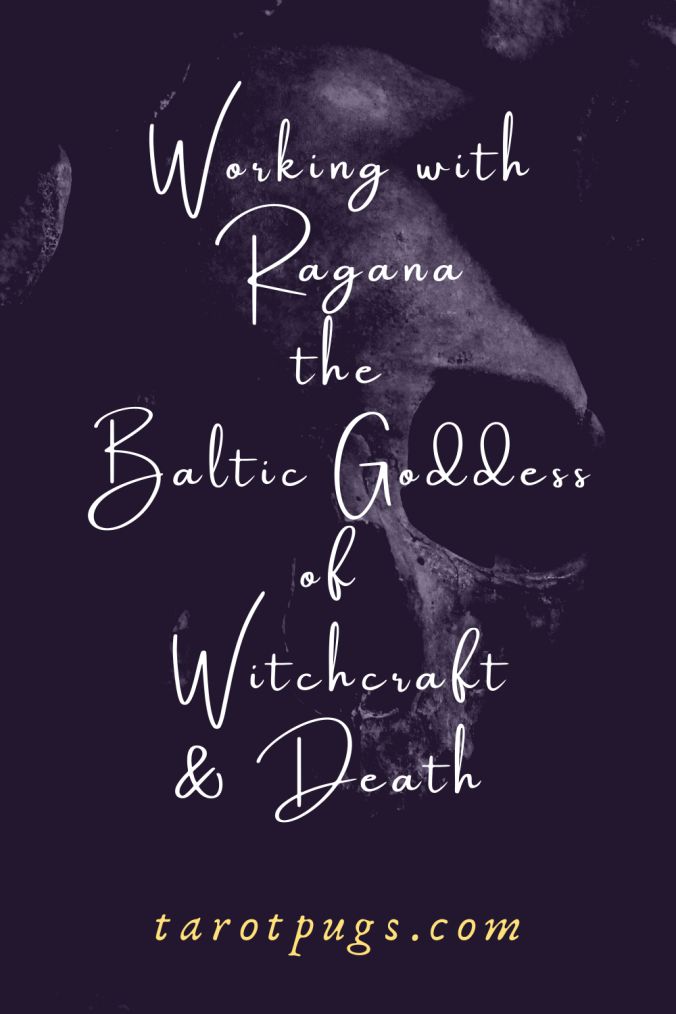 Find out how to work with Ragana, the Baltic goddess of witchcraft and death. #darkgoddess #witchcraft #death