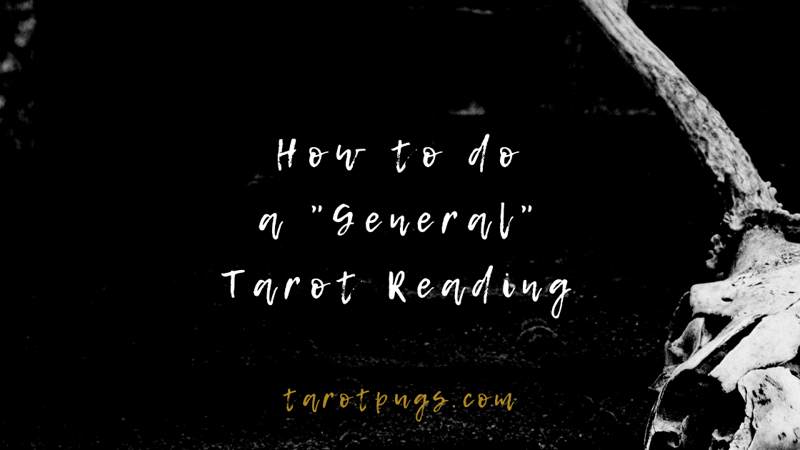 Learn how to do a general tarot reading with a question. #learntarot #tarot