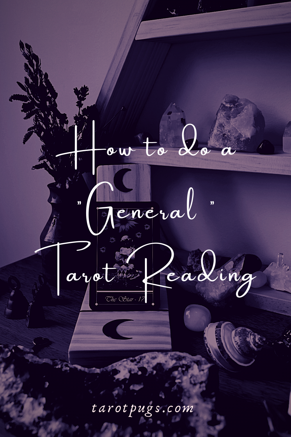 Learn how to do a general tarot reading without a question. #learntarot #tarot