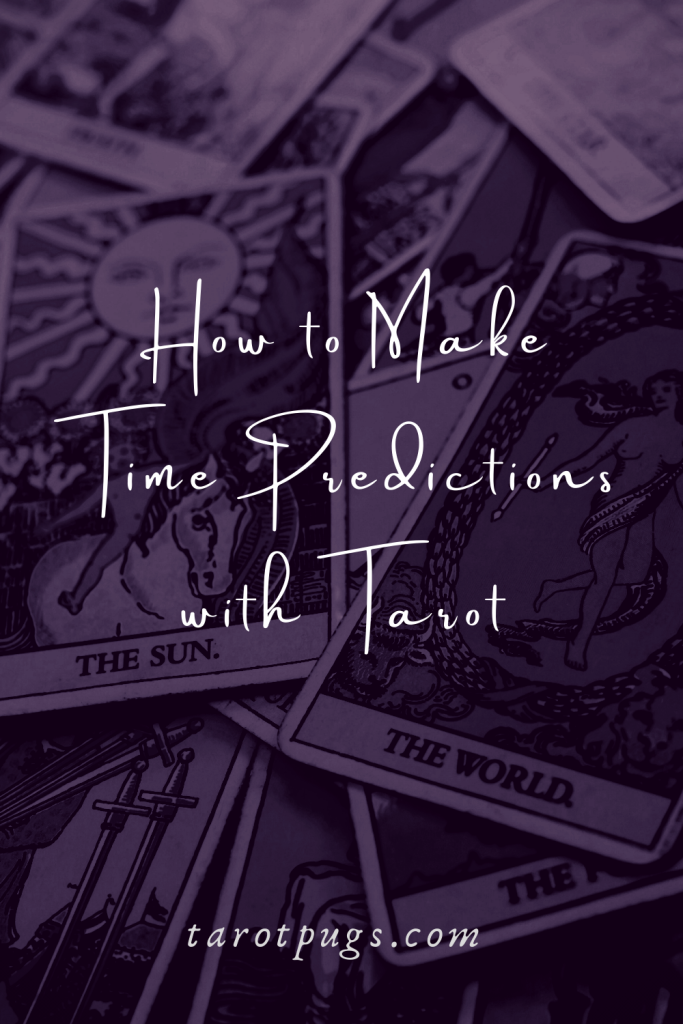 Learn how to make predictions with tarot by using astrology and numerology. #tarot