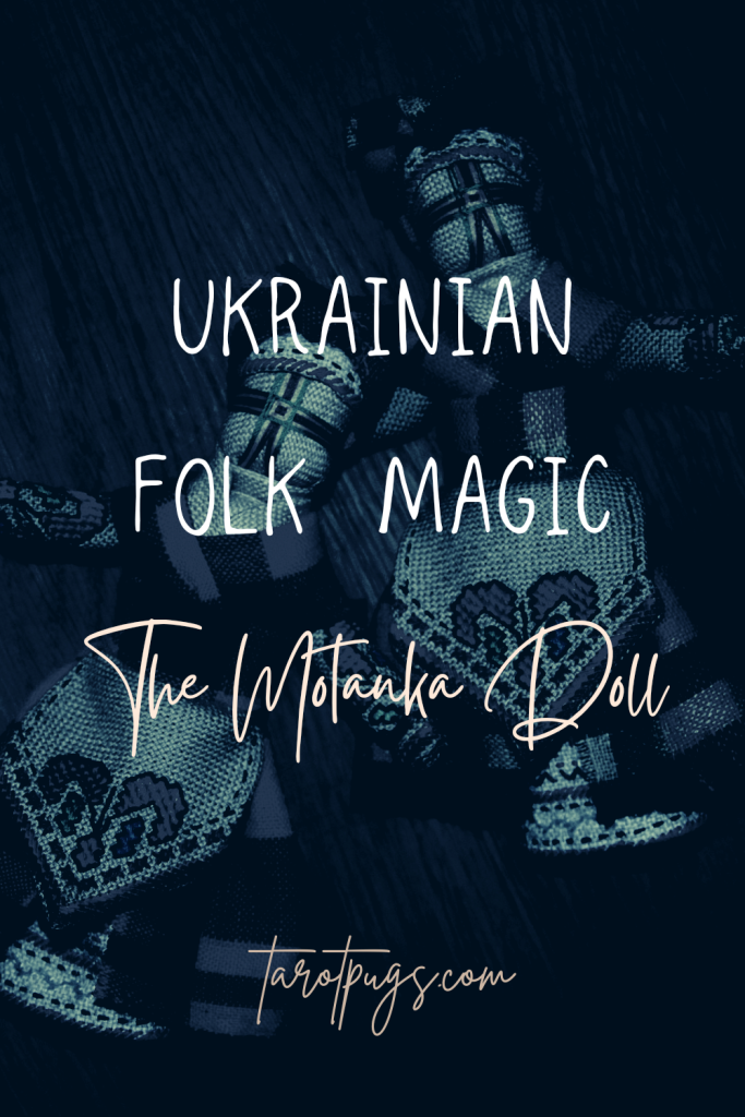 Learn about the Motanka doll in Ukrainian folk magick for a Slavic witchcraft practice. #witchcraft #folkmagic #folkmagick #magick #slavic